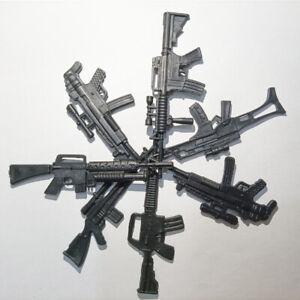 "5PCS PVC Gun Model Weapon for 7"" DeadPool Winter Soldier Figure Toy Accessories"