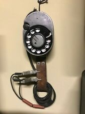 Vintage Lineman # 52A Rotary Dial Only Phone Line Test Butt Set Rare