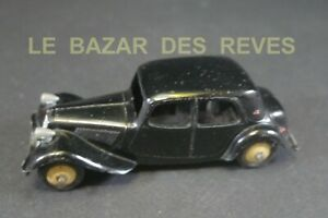 DINKY TOYS FRANCE. CITROEN TRACTION 11 BL.  REF: 24 N. (lot2)
