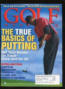 May 1999 Golf Magazine Tiger Woods on Cover 196 Pages