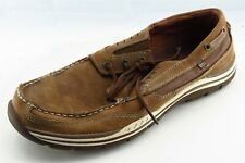 Skechers Shoes Size 11.5 M Brown Running Leather Men