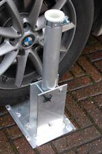 Auto-Mastfuß für Aluminium Teleskopmast zum Auffahren. Für Amateurfunk und mehr!
