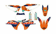 NEW KTM GRAPHIC KIT FACTORY EDITION DECALS 2009-2015 65 SX XC SXS 46208990000
