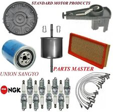 Tune Up Kit Filters Cap Spark Plugs Wire For FORD F-150 V8 5.0L 1992