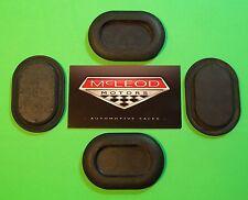 4 EA MOPAR OE Rubber Oval Floor Pan Drain Plugs Fits 1997-2006 Jeep Wrangler TJ