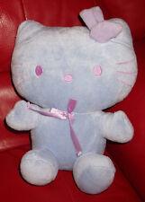 "Sanrio Hello Kitty Cat Lilac Purple Plush Stuffed Animal 2006 10"" Tall"