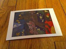 Paul Gaugin Seed Of The Areoi Te AA No Areiois  African American Nude Postcard