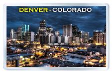 DENVER COLORADO USA MOD2 FRIDGE MAGNET SOUVENIR IMAN NEVERA