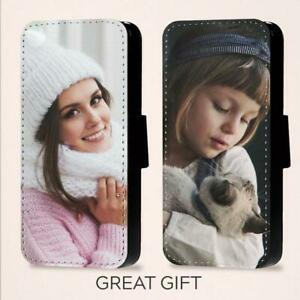 Personalised Picture Of Your Choice Phone Flip Case For iPhone