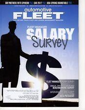 Automotive Fleet Magazine Fleet Manager Salary Survey April 2017