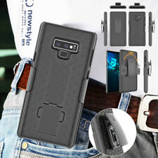 For Samsung Galaxy Note 9, Hybrid Armor Holster Belt Clip Shockproof Case Cover