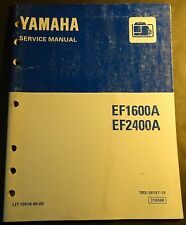 1997 YAMAHA EF1600A & EF2400A GENERATOR SERVICE MANUAL LIT-19616-00-69  (218)