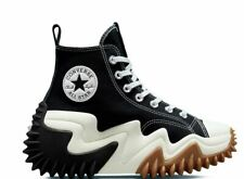 Converse Run Star Motion Hi Black White Gum WOMEN Size 6-12✔️FREE SHIPPING🚚