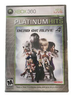 Dead or Alive 4 Xbox 360 Game Brand New Factory Sealed Collectible Platinum Higs