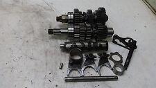 Kawasaki KZ750 Twin KM155-2B. Engine transmission gears shaft - q