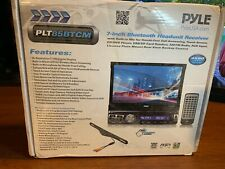 Pyle Car Stereo Receiver System & Backup Camera Kit Touch-Screen Headunit Rad...
