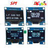 "Blue/White 1.3"" IIC/SPI Serial 128X64 OLED LCD Display Screen Module for Arduino"