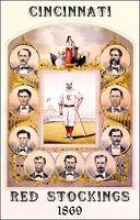 1869 Cincinnati Red Stockings  Poster #1 - Reds Rose