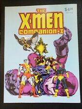 🌟  1982 X-MEN COMPANION 1&2 I II  FANTAGRAPHIC BOOKS NEAR VF-NM BARELY TOUCHED