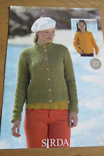 Sirdar Country Style DK - Pattern No. 9809 - Cardigans - Easy Knit