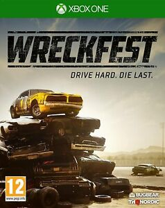 Wreckfest Ages 12 Item Model Number Release Game Disc Air Filters Body Side Take