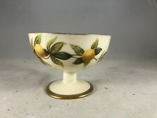 Limoges, France - Lemon Fruit Or Ice Cream Pedestal Cup