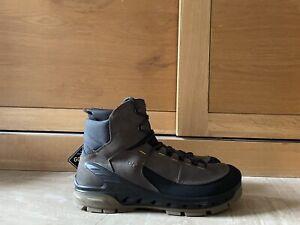 Ecco Mens Biom Venture Tr Mid Rise Yak Lea GORE-TEX Walking Hiking  Boots 11UK