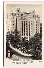 Toronto-Canada-Women's College Hospital-Real Photo-Vintage 1950's Postcard