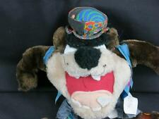 RETRO HIPPIE LOONEY TUNES TAZ TASMANIAN DEVIL PEACE SIGN PLUSH STUFFED ANIMAL