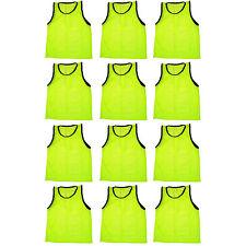 12 Jersey practice uniform pinnie pennie lacrosse field hockey Adult Yellow
