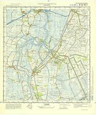 Russian Soviet Military Topographic Maps - PAPENBURG (Germany),1:50 000, ed.1975