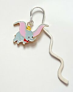 DUMBO The Flying Elephant Tibetan Silver Handmade Bookmark Gift Pouch