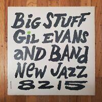 GIL EVANS Big Stuff 1959 Purple Label VG+ Vinyl Lp VG+ Cover NJLP 8215  RVG MONO