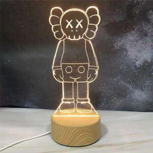 Kaws Figure Bearbrick Companion 3D Visual Lamp