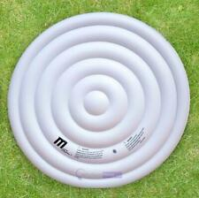 Inflatable Hot Tub 6 Persons Jaccuzi Round Bladder Spa Heat Preservation Cover