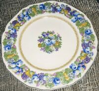 """6 Vintage Crown Ducal 9"""" Plate in the Florentine Pattern Set of six"""