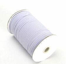 Flat Elastic For Face Masks Sewing Dress Making 4mm 6mm 8mm White Elastic 5 10m