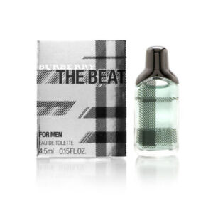 Burberry The Beat by Burberry for Men 0.15 oz EDT Mini Brand New