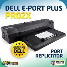 Dell Latitude Laptop E-Port Plus Replicator/Dock Station/PR02X E6500 ST XT3