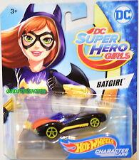 HOT WHEELS 2017 DC SUPER HERO GIRLS BATGIRL BLACK