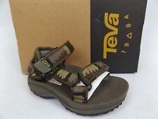 Teva Hurricane 2 Sandal, Toddler Boy's SZ 4 T Peaks Brown Olive NEW 15870