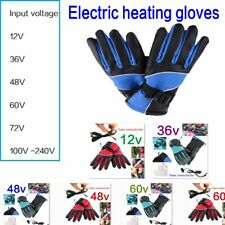 High Quality Heated Gloves Waterproof Thermal Warm Winter Motorcycle Motorbike