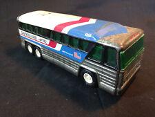 Vtg Collectible 4950 Tin Buddy L Americruiser Greyhound Bus Toy Made In Japan