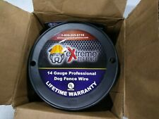 New listing Extreme Dog Fence 14 Gauge Wire 250 Ft