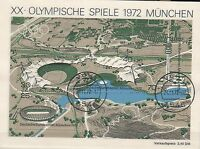 """Brd Block 7 gestempelt  """"XX.Olympische Spiele München 1972"""""""