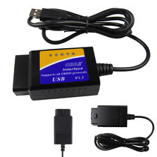 Car Scanner Diagnostic Code Reader ELM327 USB V1.5 OBD2 Diagnostic Interface~~~