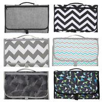 Portable Baby Folding Diaper Travel Changing Pad Waterproof Mat Bags Storage r