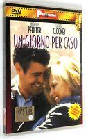 DVD UN GIORNO PER CASO 1996 Commedia Michelle Pfeiffer George Clooney