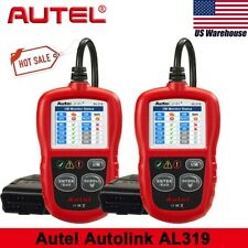 Autel AutoLink AL319 Auto OBD2 Code Reader Car Check Engine Fault as Ancel AD410