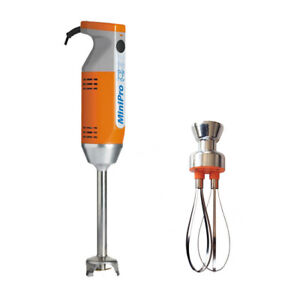 Dymanic MiniPro Combi 200W Immersion Blender with Mixer Tool & Whisk Attachment